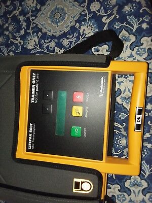 Medtronic lifepack 500t aed trainer