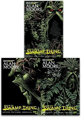 Saga of the Swamp Thing Collection 3 Books Set (Volume 4-6) By Alan Moore Pack