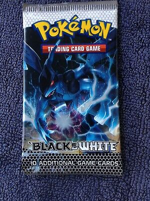 Pokemon Black And White Trading Card Game Booster Pack 10 Cards (Pack 2)  (#l1)