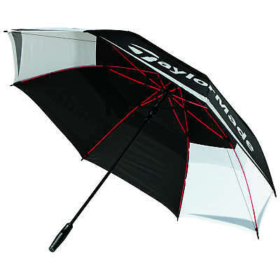 """Taylormade 2018 Tour 64"""" Auto Opening Double Canopy Golf Umbrella"""