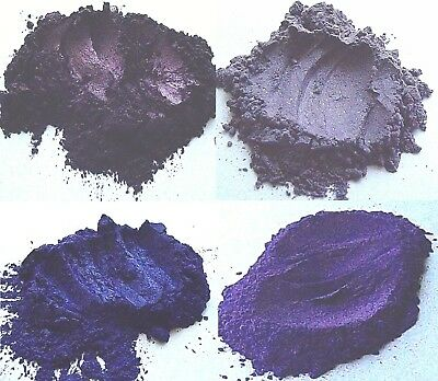 Violet Mica Collection Cosmetic Grade Home Eye shadows Mineral Makeup Skincare