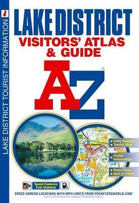 Lake District Visitors' Atlas by Geographers' A-Z Map Company New Paperback Book