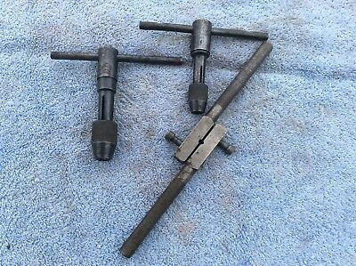 Old tap and die hand tools