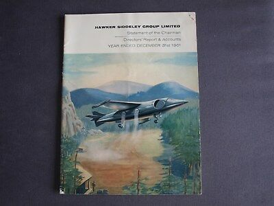 Hawker Siddeley Group Director's Report & Accounts 1961