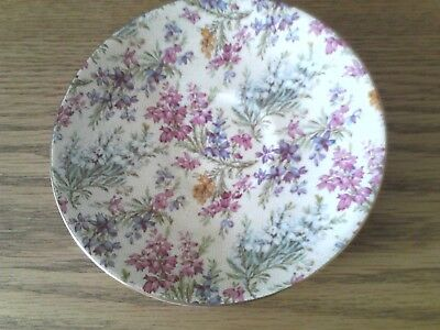 Lord Nelson Ware Chintz Heather Saucer