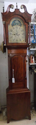 George III grandfather  clock cira 1760/80