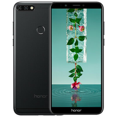 """Huawei Honor 7C 4G Téléphone 5.99"""" 3Go/32Go FACE ID Android 8.0 8*CORE 3*Camera"""