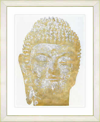 Studio Works Modern 'Buddha' by Zhee Singer Framed Painting Print