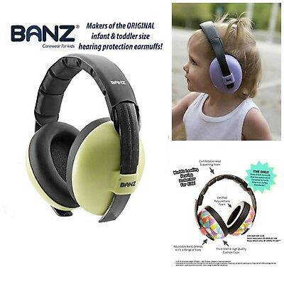 Infant Hearing Protection Noise Reduction Soft Best Earmuffs Babies Toddlers
