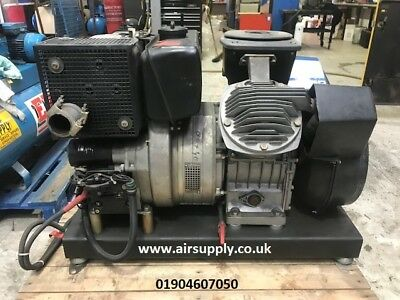 Atlas Copco air compressor 30bar Diesel high pressure not screw compressor