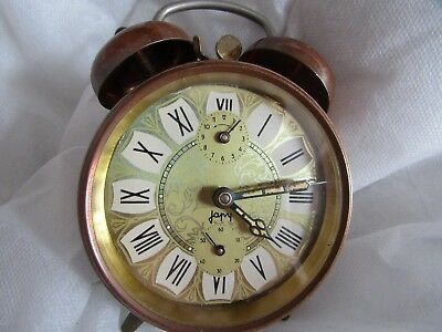 Clock - Antique French Japy Alarm Clock