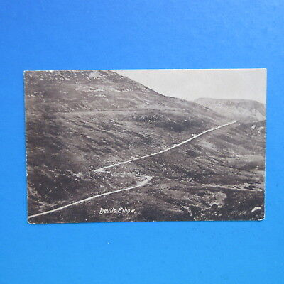 Very Old Postcard of The Devils Elbow, Scotland.