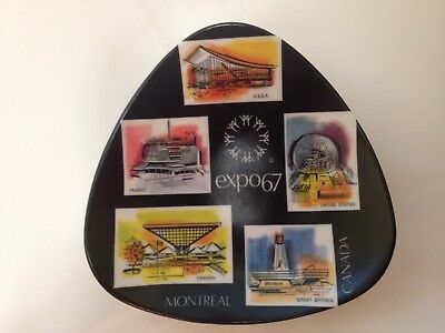 "1967 Montreal Canada Expo 67 World's Fair / Expo Ornamin ORNAMOLD 5"" Ashtray"
