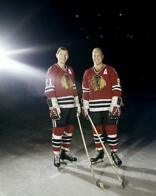Bobby Hull, Stan Mikita Chicago Black Hawks 8x10 Photo