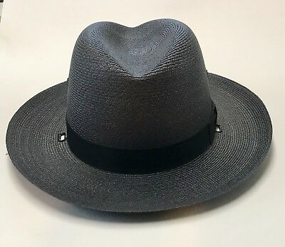 Authentic Connecticut State Police Stetson Hat Trooper Lightweight Summer Issue