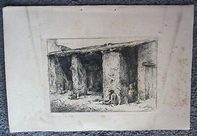 Gravure ancienne