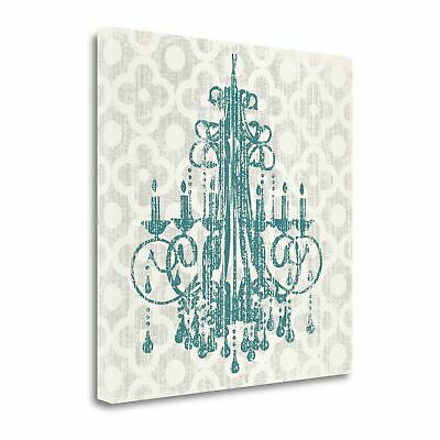 Tangletown Fine Art Quatrefoil Chandelier I' Graphic Art Print on Canvas