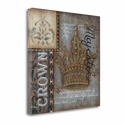 Tangletown Fine Art Crown' Graphic Art Print on Canvas