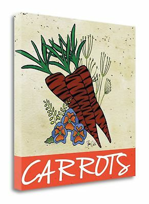 Tangletown Fine Art 'Carrots' Graphic Art Print on Wrapped Canvas