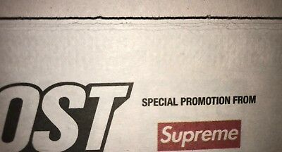Supreme x New York Post Newspaper *FREE SHIPPING WITHIN THE U.S.*