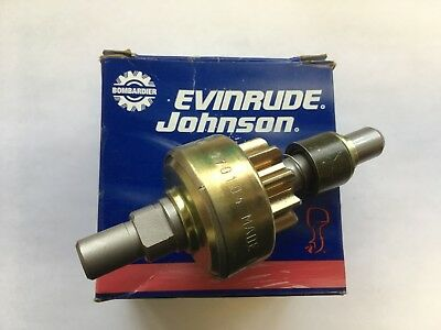 New P/N 5004518, Pinion and shaft assembly, Evinrude, Johnson, Bombardier