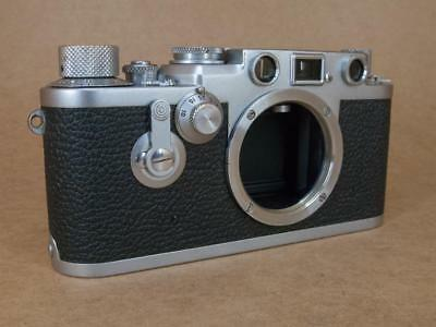 Leitz Leica IIIf Red Dial with Delayed Action 1954