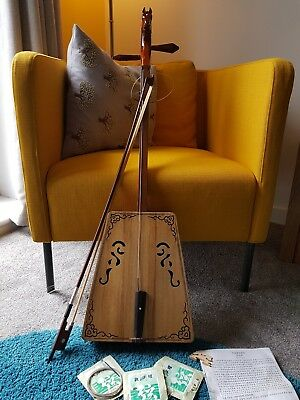 Morin Khuur - Mongolian horse head fiddle