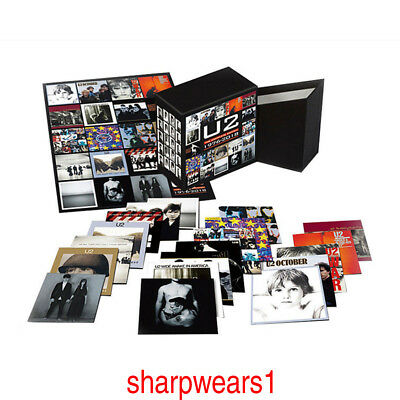 """The Complete Edition 1976-2018"" U2 Album (22 CDs) Box Set In Stock + Free Gift"