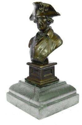 Frederick the Great of Prussia German King Bronze Sculpture Art Deco Style Sale