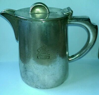 Vintage Silver Plate Teapot 3/4 Pint Old Ship Hotel Brighton