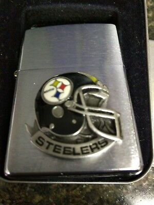 1998 Pittsburgh Steelers Zippo Lighter - Brand New - Collectible