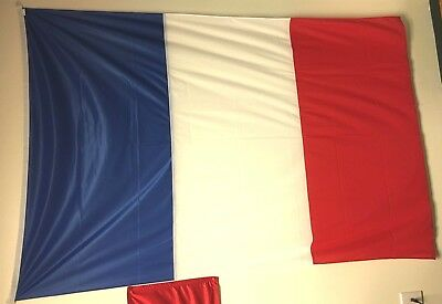 """Gorgeous Huge French Flag    48""""  by 72"""""""