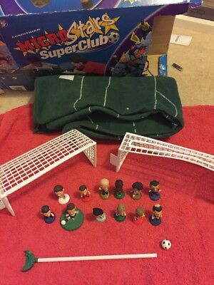 corinthian microstars - Set, Pitch, Goals, 12 Players *rare* Beckham X2