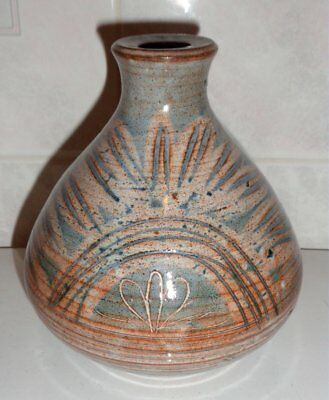 BRIGLIN POTTERY 1970s LAMP BASE