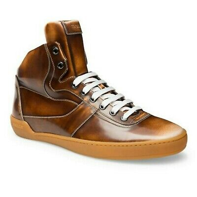 1e5bebd81a909 S-2281151 New Bally Eroy/582 Cuir Brushed HiTop Sneaker Shoes Size US 8D