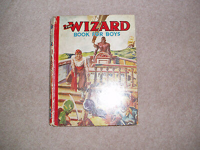 Wizard annual/book for boys 1940?