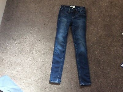 Girls Abercrombie slim fit jeans age 12