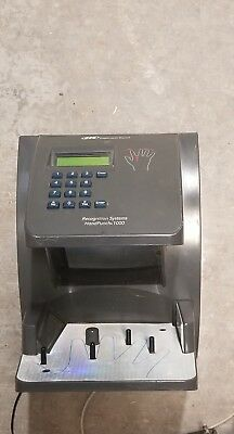 Ingersoll Rand Recognition Systems HandPunch HP-1000 Scanner Time Clock.
