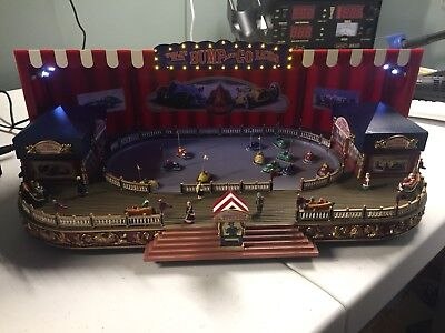Mr Christmas Bumper Cars Worlds Fair Gold Label Bump And Go