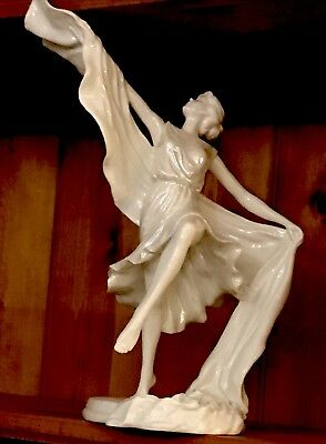 Royal Worcester Dancing Lady Figurine , Limited Edition Number 54 Of 950