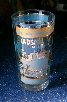 "Vintage ""Roadside America"" Souvenir Glass, SHARTLESVILLE, PA The Grist Mill"