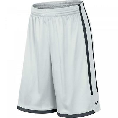 Nike Team League Mens Dri-Fit Basketball shorts Sz M   White sport gym