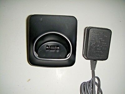 PANASONIC PNLC1029 YA black  Charging base Cradle w/ PNLV226 Charger     TESTED