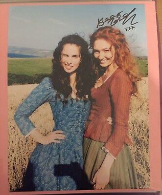 Eleanor Tomlinson POLDARK Autograph Sign