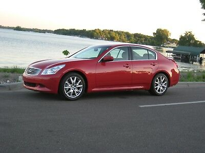 2009 Infiniti G37 6MT SPORT SEDAN 2009 INFINITI G37 6MT SPORT SEDAN WITH FULL FACTORY WARRANTY BY ORIGINAL OWNER