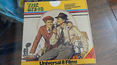 SUPER 8 MM FILM THE STING still sealed  color sound 400 series