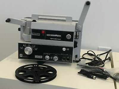 Vtg Electronics Eumig 820 Sonomatic Super8 8mm Home Theater Film Projector w/Box