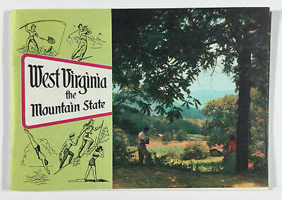 West Virginia The Mountain State WV Industrial & Publicity Commission Charleston