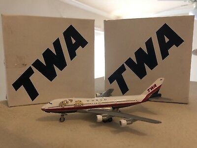 1997 Ertl Collectibles TWA Trans World Airlines Metal Diecast Model Airplane MIB