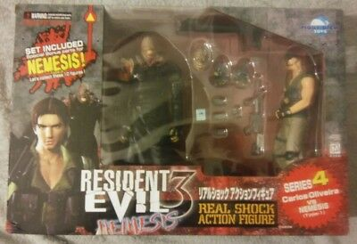 Moby Dick Resident Evil 3 Series 4 Carlos Oliveira & Nemesis Type-1 - Brand New
